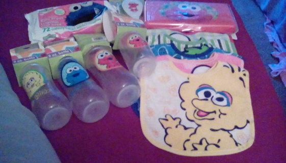 12 NEW ITEMS FOR THE BABY