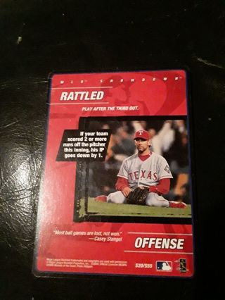 MLB Rattled Offense
