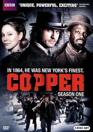 2012 BBC Copper:Season 1 Dvd 3 Disc Movie-New & Sealed-Solving Crimes