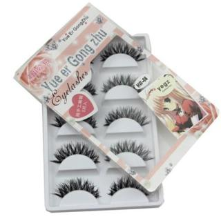 5 Pair/Lot Crisscross False Long Black Eyelashes Lashes Voluminous Eye Lashes