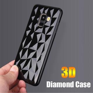 3D Diamond Soft Case for Samsung galaxy A7 A6 A8 J2 J8 A9 J4 J6 Plus 2018 S8 S9 S7 edge Note 9 8 J