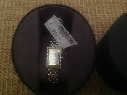Citizen Quartz Watch/Swarovski Crystal #SST-WR