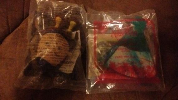 McDonald's Happy Meal Toys Puss in Boots #3 & The Last Airbender #3