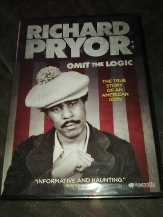 Richard Pryor: Omit the Logic (NEW Factory Sealed DVD) Free Shipping