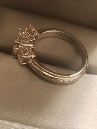 Platinum/925 Sterling Silver TACORI Ring Sz 6