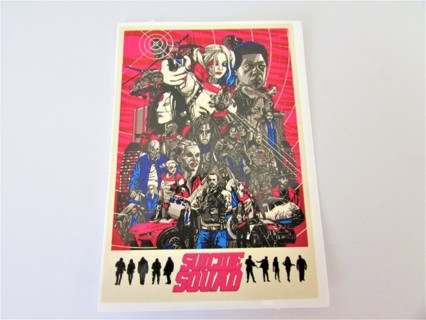 SUICIDE SQUAD Vinyl Sticker- Helmet/Car/Skateboard/Business/Crafts