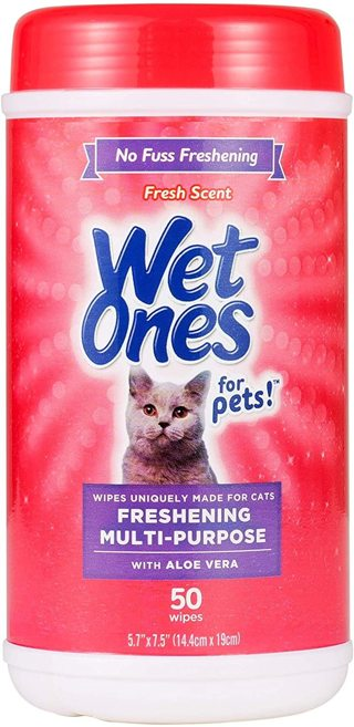 Wet Ones for Pet Wipes for Cats