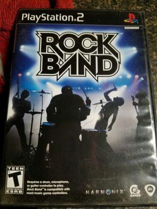 Rock Band Playstation 2