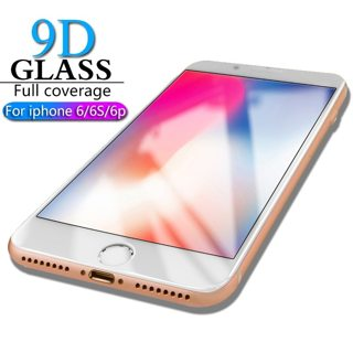 HICUTE 9D Protective Glass for iPhone 6 screen protector iPhone 6 6S 6 plus Tempered Glass on iPhone