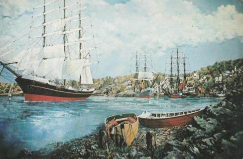 Vintage Unused Postcard: Castine, Maine