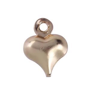 10 Heart Charms