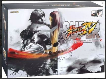 RARE PS3 Super Street Fighter IV Arcade FightStick Tournament Edition S FREE SHIPPING