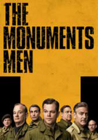 The Monuments Men Digital Movie Code Only UV Ultraviolet Vudu ~ MA