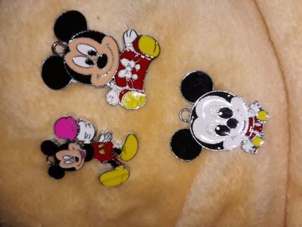 New Mickey charms