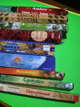 10 incense sticks of your choice  17 scents to choose from!!