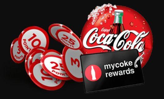 100 My Coke Rewards Points
