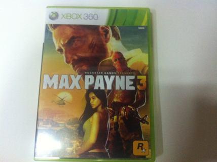 Max Payne 3 ''XBOX 360''