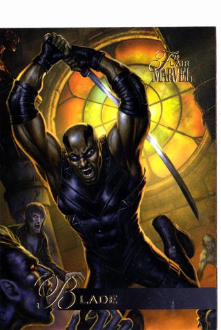 2019 Flair Marvel #9 Blade