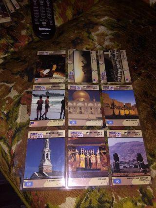9 random desert storm cards in sleeve