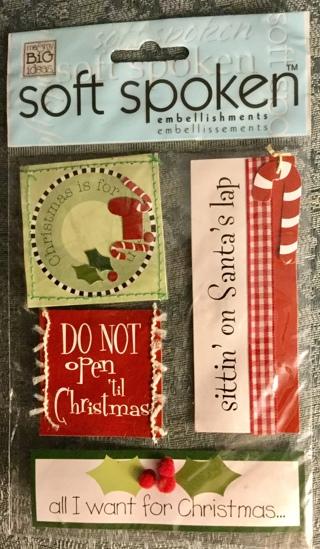 Soft Spoken Christmas Stickers