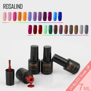 ROSALIND Gel Polishes Manicure Set UV Gel For Nails Polish Color Hybrid Vernis Semi Permanent Base
