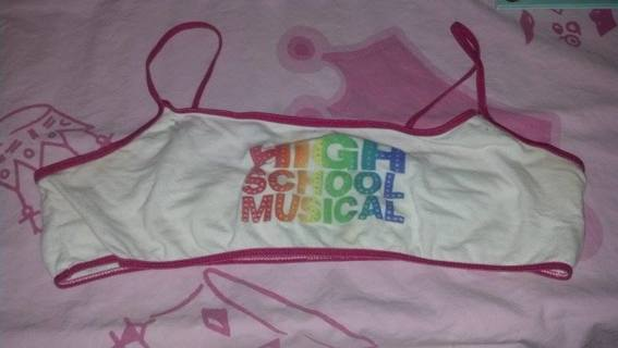 Free: High School Musical girls XL bralette, training bra - EUC ...