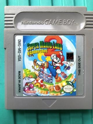 Nintendo Gameboy Super Mario 6 Golden Coins Game