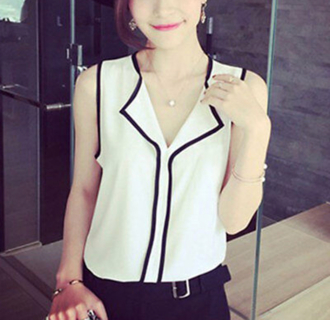 Nwot chiffon blouse-M/L