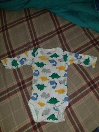 3-6 baby boy long sleeve onesie