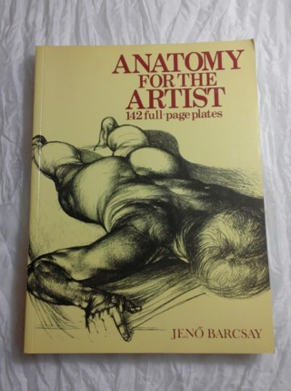 Free: Anatomy For The Artist By Jeno Barcsay Softcover Book ...