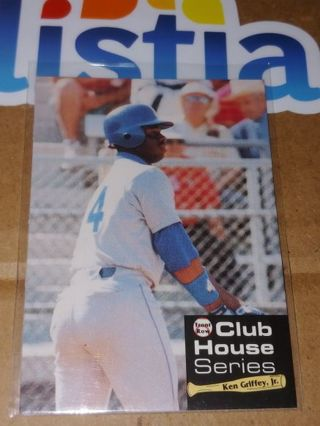 """THE KID"" KEN GRIFFEY JR⭐SEATTLE MARINERS⭐1992 FRONT ROW⭐CLUB HOUSE SERIES⭐FREE $HIPPING"