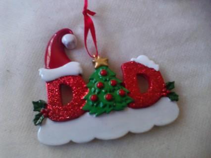 """Free: """"DAD"""" Christmas Ornament - Christmas - Listia.com ..."""