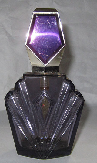 Passion Spray crystal perfume dresser bottle with Atomizer