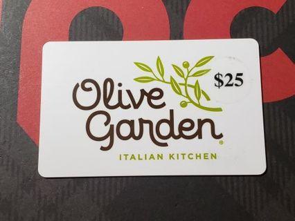 $25 Olive Garden Gift Card