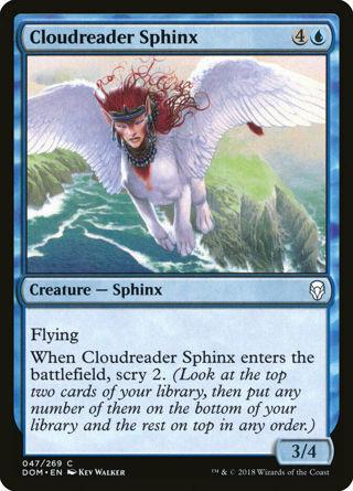 Cloudreader Sphinx MtG Dominaria