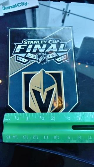 Las Vegas Golden Knights- HOCKEY- Window Decal- 2018- Stanley Cup Final