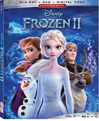 Frozen 2 digital code from Blu Ray