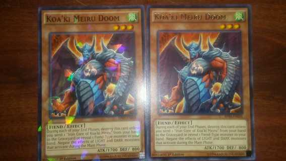 yugioh card lot 3/5