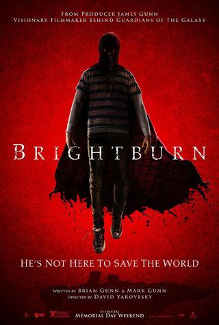 New Release Brightburn 4k HDX HD digital code from Sony