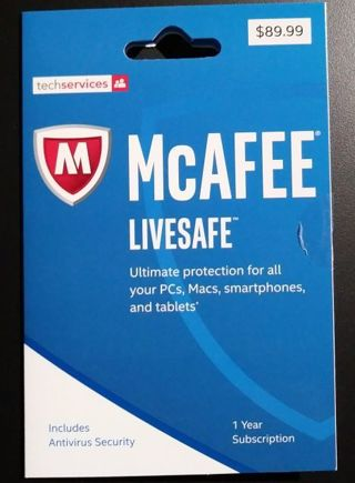 Laptop Desktop Computer McAfee Antivirus software Unlimited multiple devices FREE SHIPPING