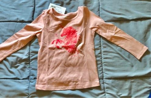 "BNWT Size 4x Girls Pink Unicorn Cotton Long Sleeved Top. Macy's ""Epic Threads"" Brand"