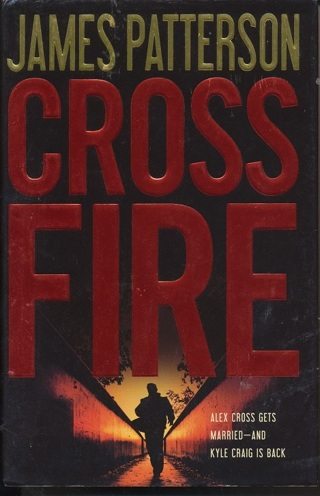 """""""Cross Fiew"""" James Patterson, Hardcover, In Like New Condition, Free Shipping w/GIN - BK-1037"""