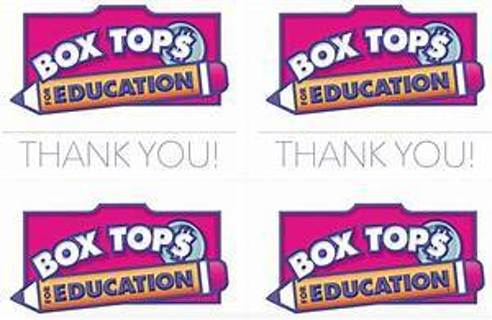 5 boxtops for education( #2) Free shipping.