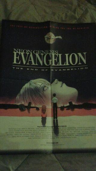 Neo genesis evangelion the end of evangelion movie poster