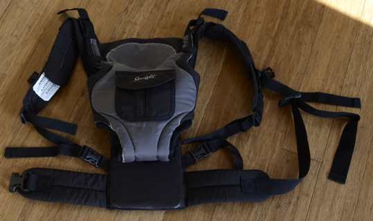 Free  Evenflo Snugli 3 Way Baby Carrier Model   0761444 EUC Possible ...