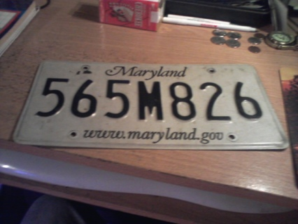 MARYLAND TAG
