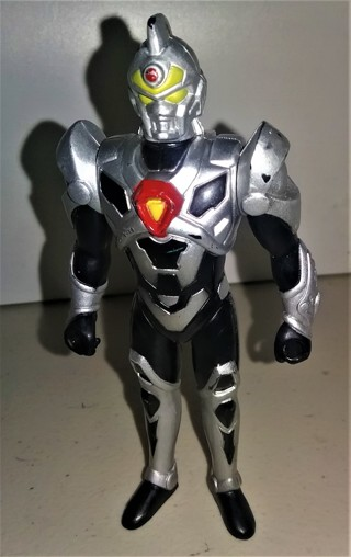 "1997 DIC Prod, Playmates Toys, Superhuman Samurai Syber-Squad plastic action figure - 5"" tall"
