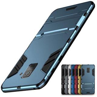 Hybrid Duty Kickstand Rugged Armor Hard Case Cover For Samsung A8 2018 Note 9 8