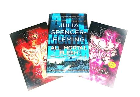 (3 Books) The Darkest Night/The Darkest Whisper-Gena Showalter, All Mortal Flesh-Julia Spencer-Flem