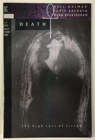 Death The High Cost Of Living #3 Very Fine/Near Mint 9.0 DC Vertigo Comics Neil Gaiman